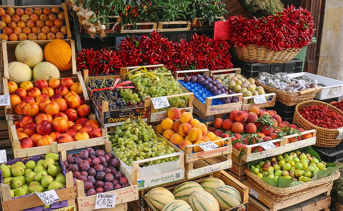 Цены на продукты в италии в 2021 году - перечень продуктов