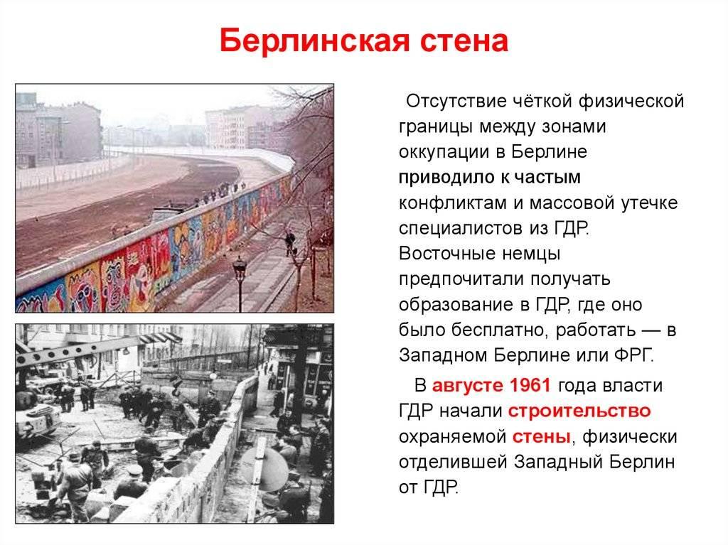 Занавес холодной войны. 30 лет назад пала берлинская стена— 10 фактов ободном изсамых известных символов вистории