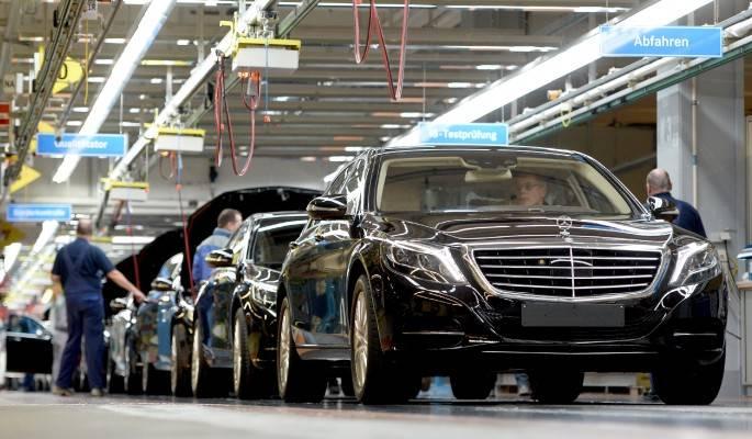 Где располагается производство легендарных автомобилей mercedes