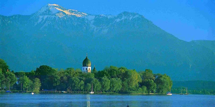 Озеро кимзее или как по-настоящему отдохнуть на баварском море
