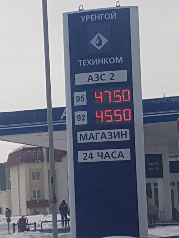 Бензин в сша