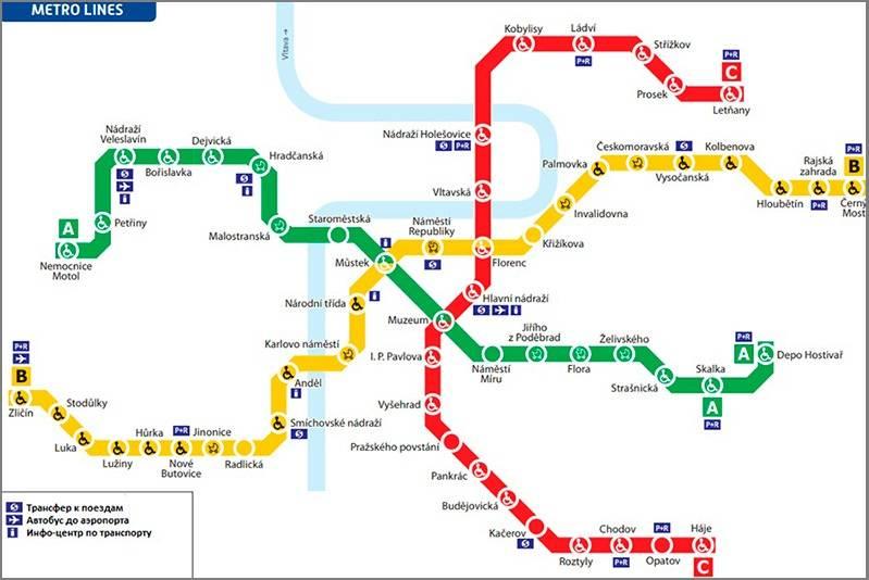 Транспорт в праге в 2020 году: цены, билеты, проездные, карты...