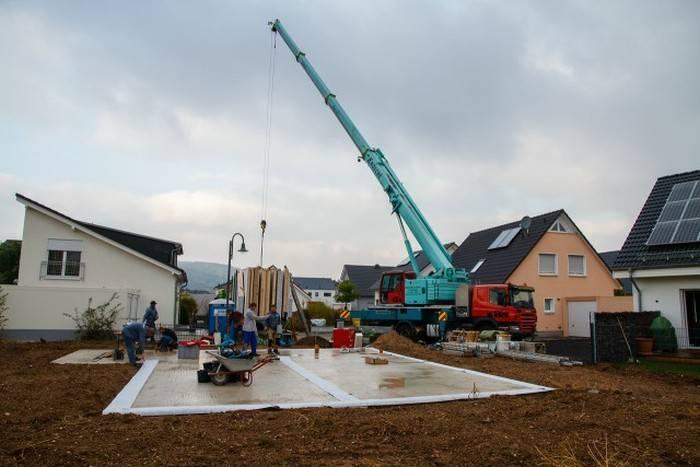 Как строят частные дома в европе?