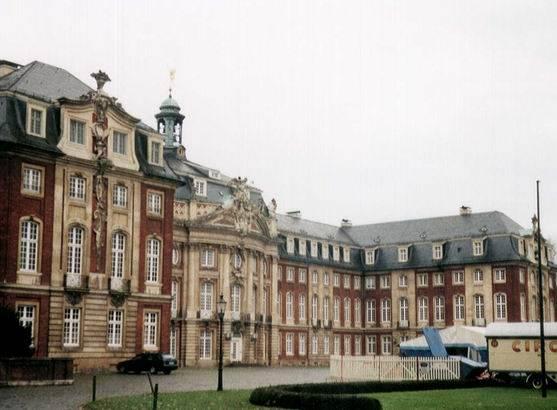 Мюнстерский дворец — википедия. что такое мюнстерский дворец