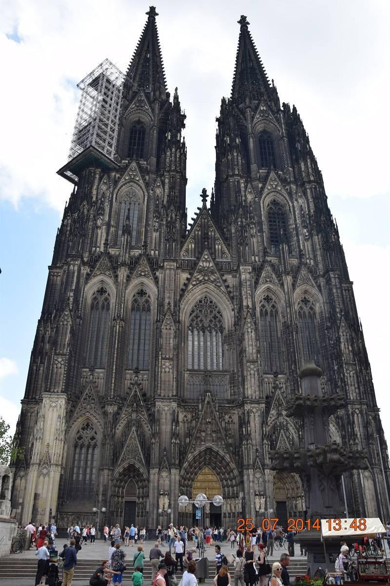 Кельнский собор, кельн, германия