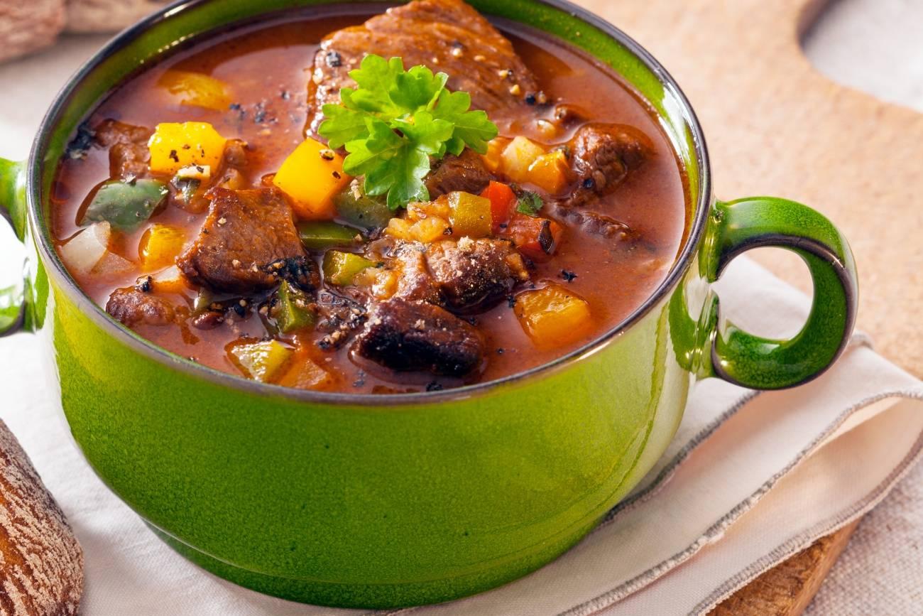 Немецкий суп айнтопф: рецепт с фото