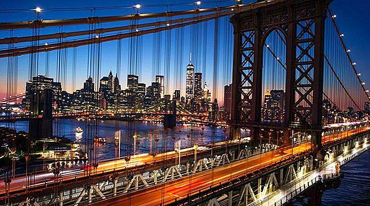 Бруклинский мост в нью йорке - индустриальное чудо света