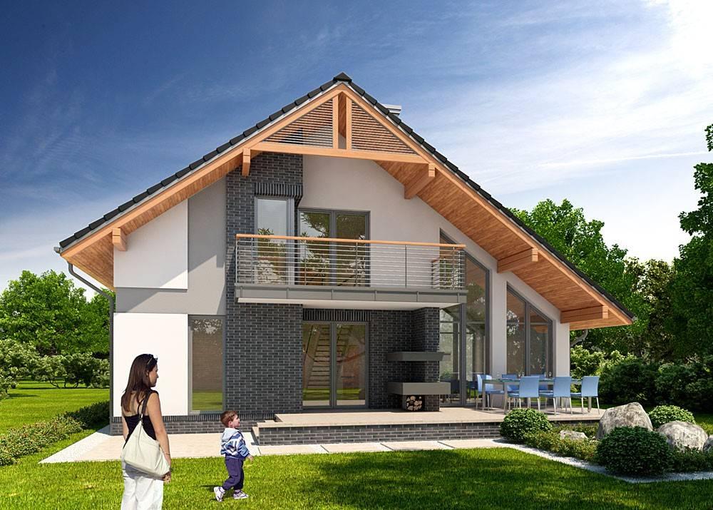 Польские проекты домов и коттеджей с гаражом. особенности проектирования польских домов и коттеджей. адаптация современных польских проектов