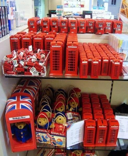 Что привезти из англии - сувениры, подарки.