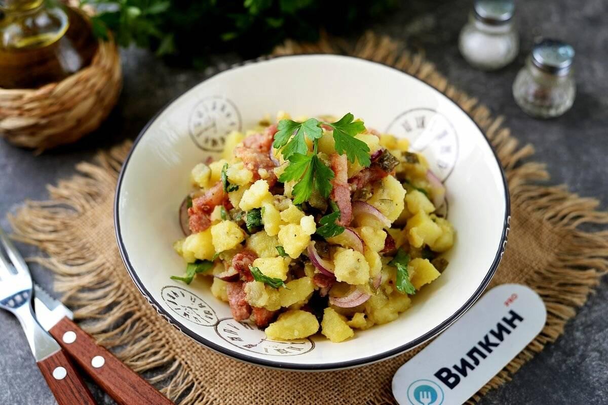 Баварский салат — праздник вкуса на вашем столе!