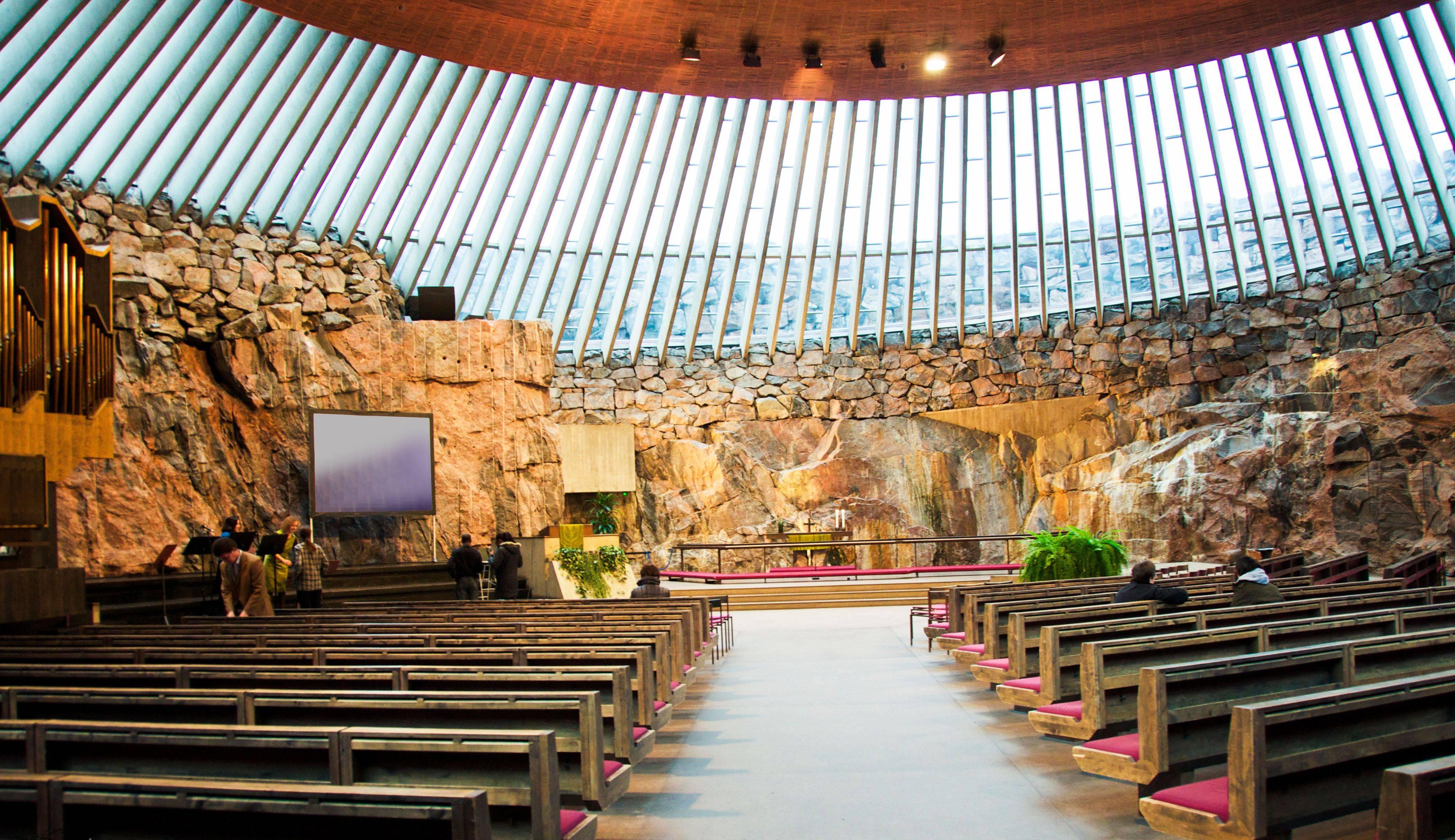 Церковь в скале— уникальный храм хельсинки и самая необычная церковь европы