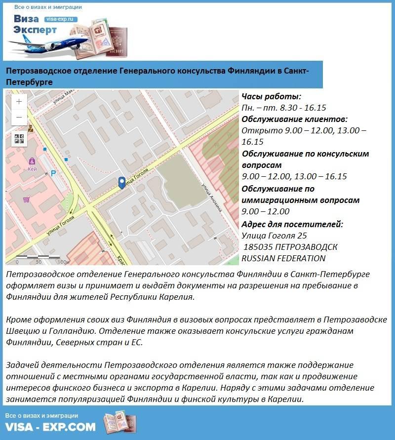 Документы для финской визы 2020 какие нужны в санкт-петербурге для оформления