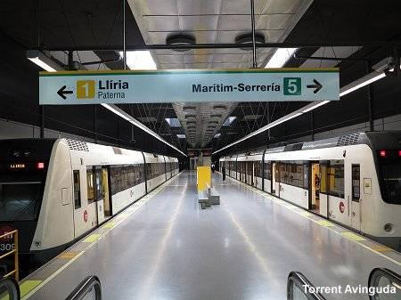Метро валенсии: схема метро валенсии, стоимость проезда, как пользоваться