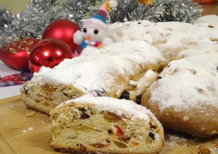 Рождественский штоллен рецепт с фото пошагово и видео - 1000.menu