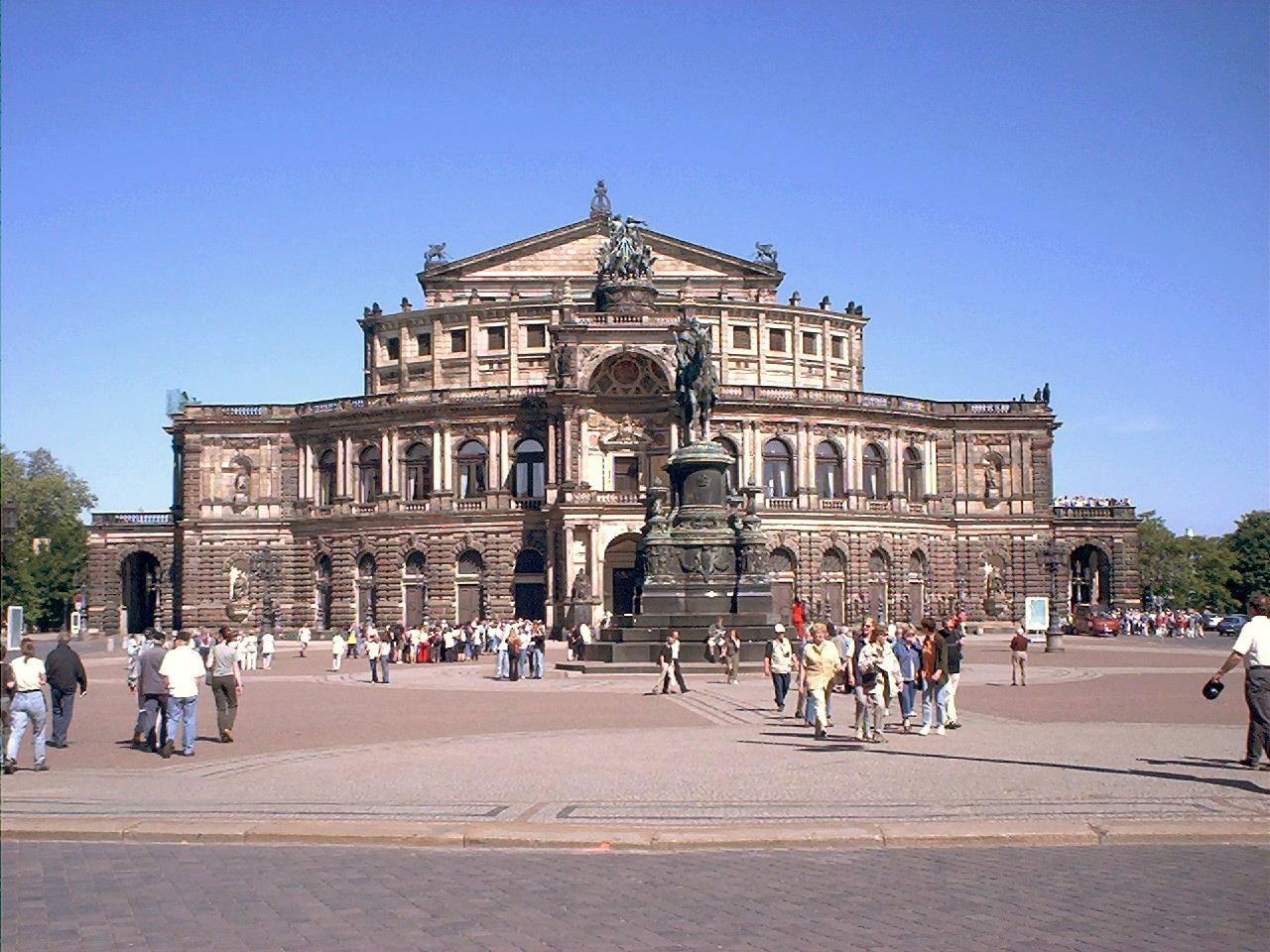 Дрезденская государственная опера (sächsische staatsoper dresden) | belcanto.ru