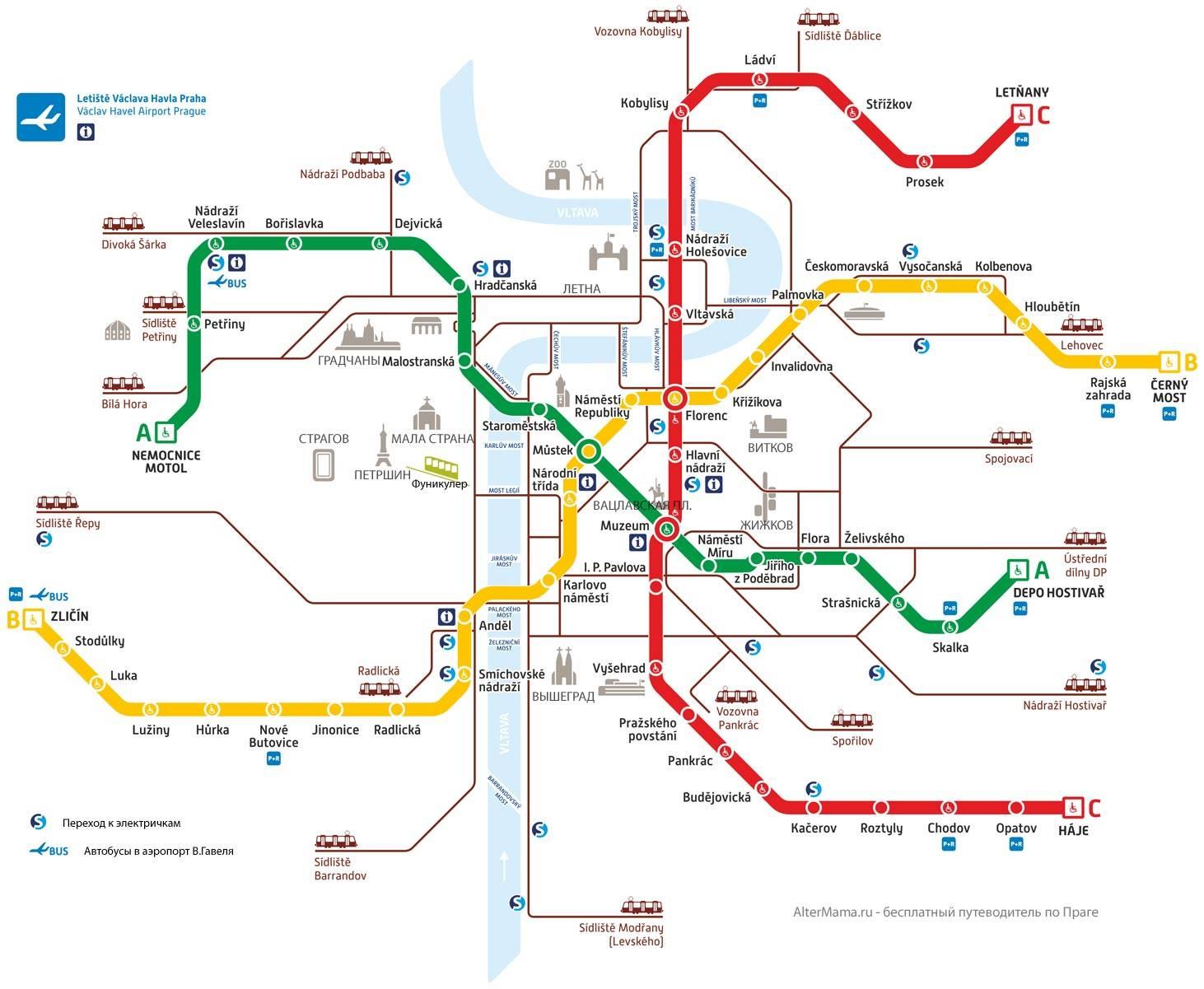 Транспорт в праге: как пользоваться, билеты и проездные
