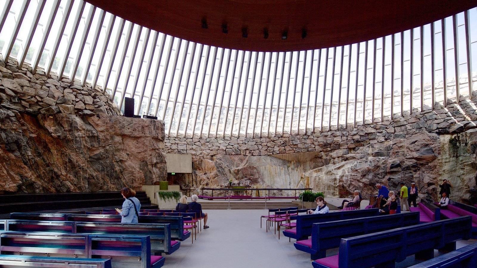 Храм темппелиаукио: особенности церкви в скале