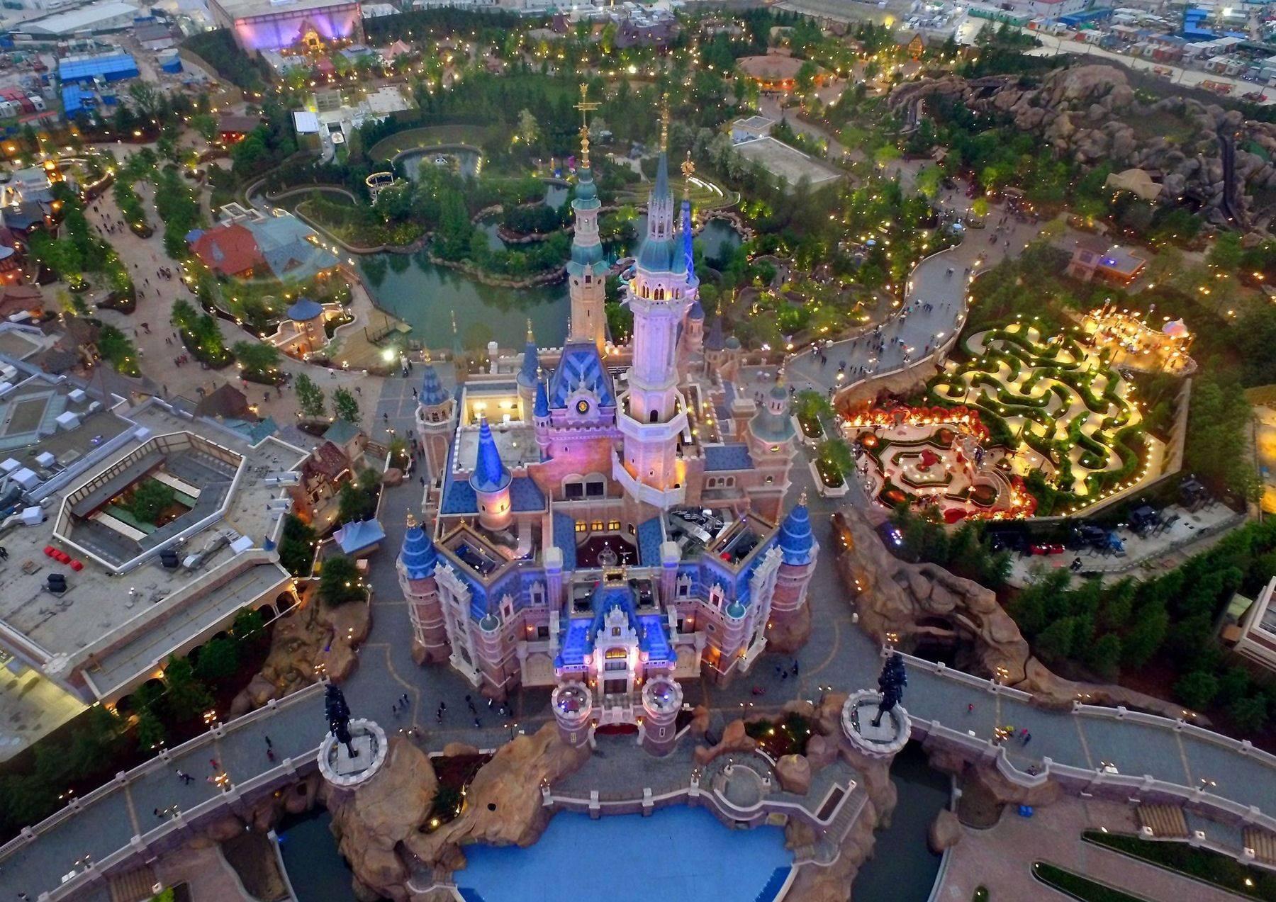Когда откроется Disneyland в Шанхае