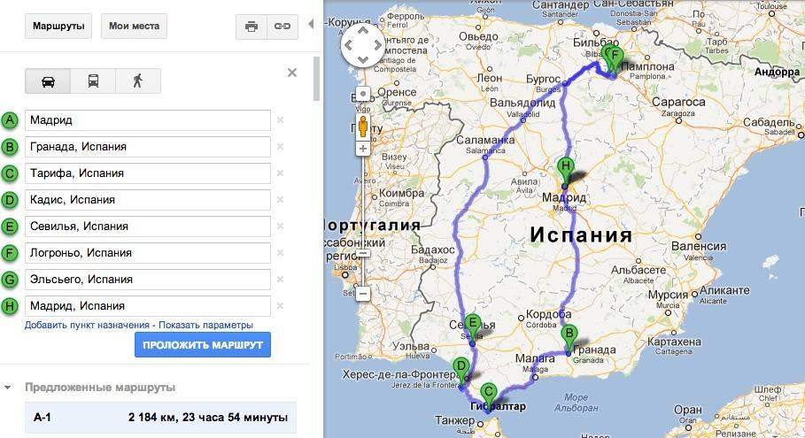 Как добраться от лиссабона до мадрида