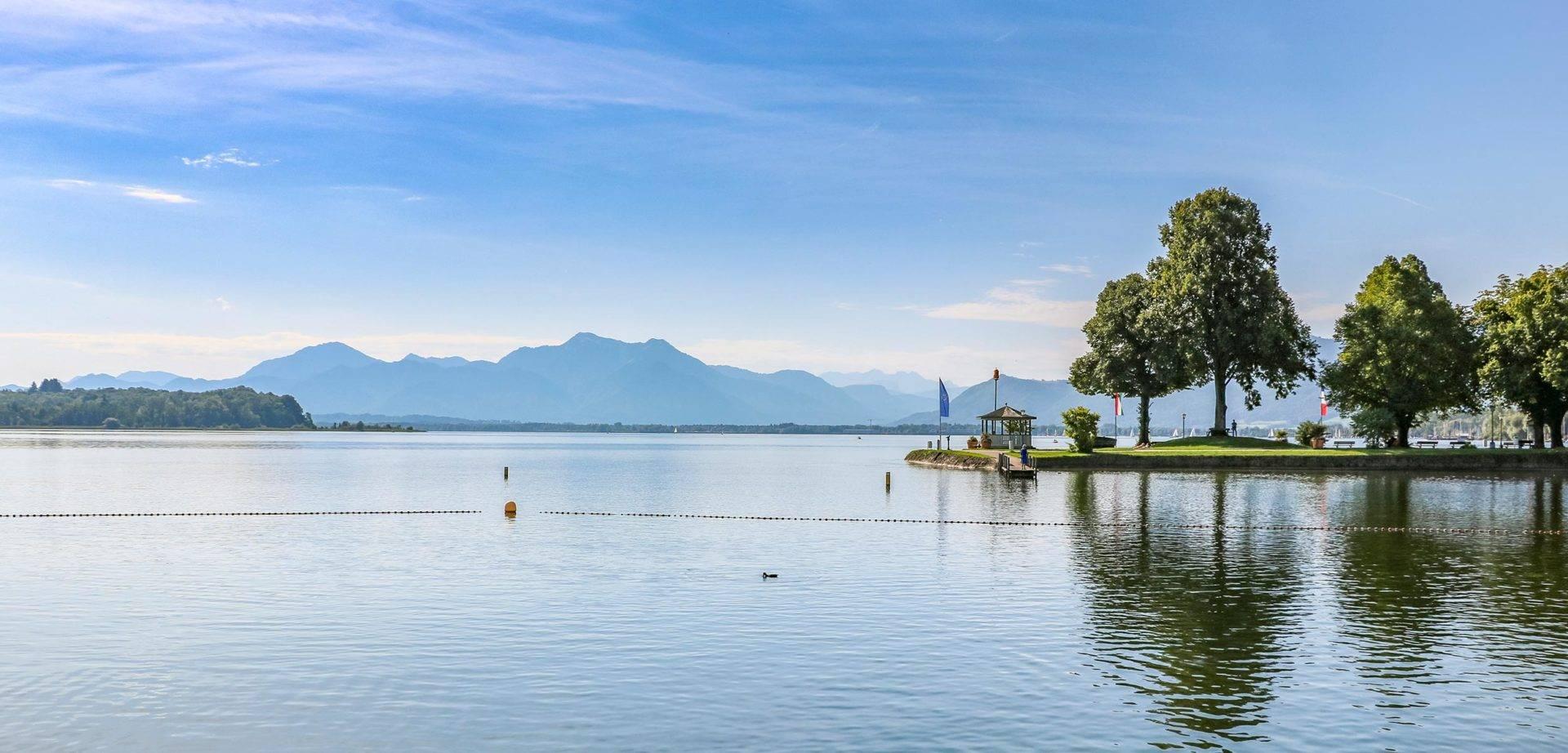 """Озеро химзее: природные и исторические красоты """"баварского моря"""" ► последние новости"""