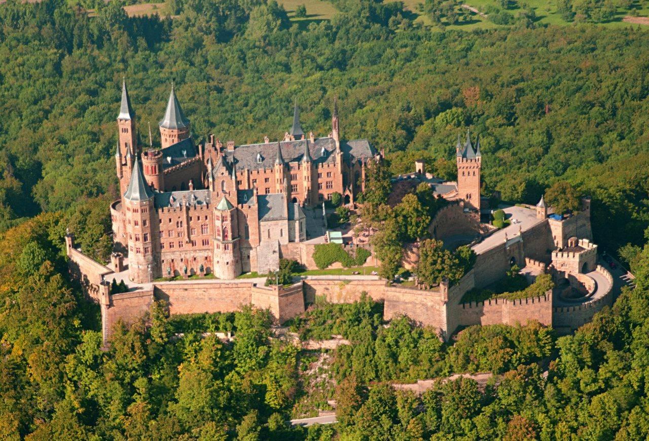 Германия замок гогенцоллерн фото - описание, история, расположение
