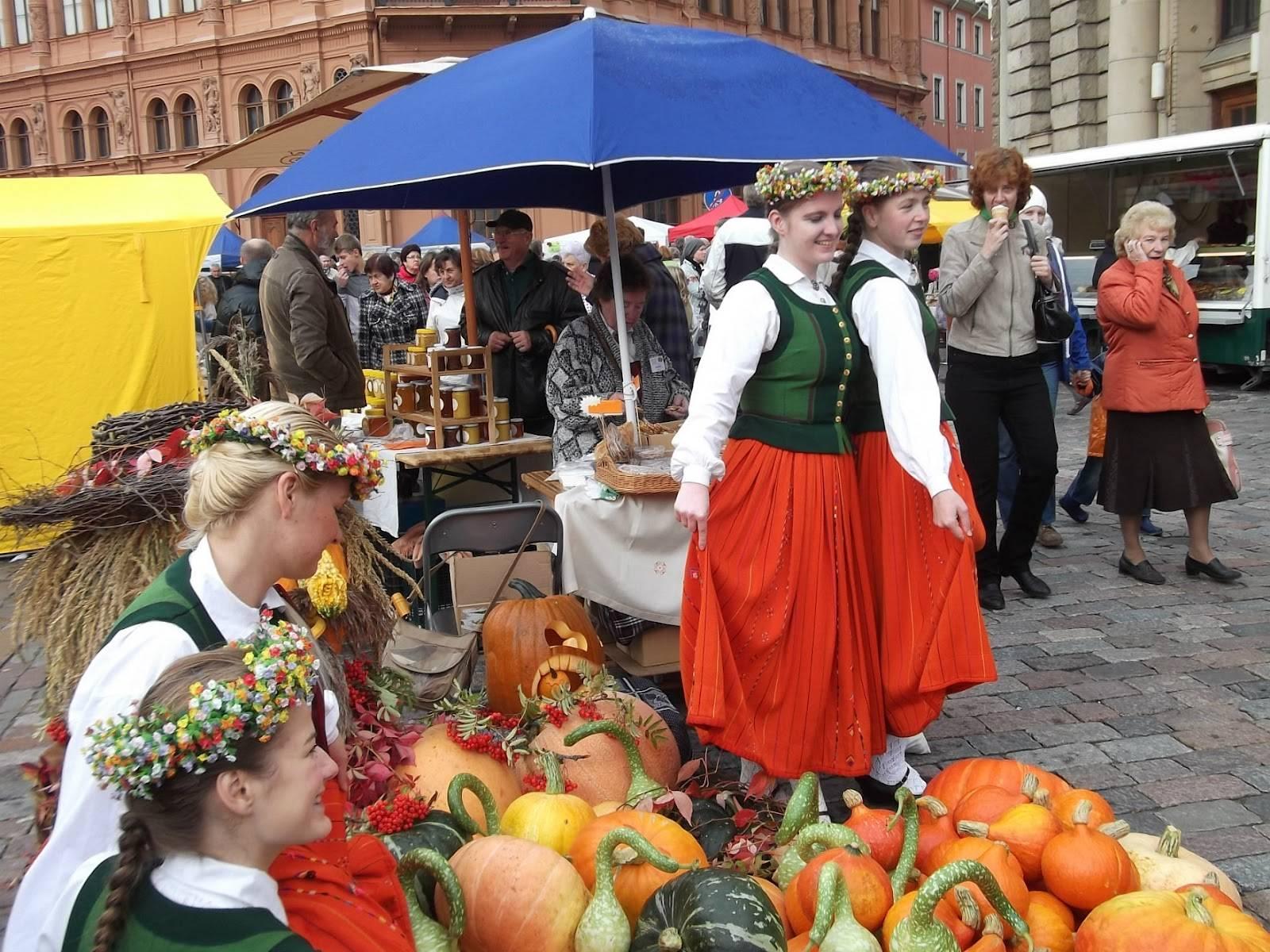Erntedankfest - немецкий фестиваль урожая. немецкие праздники и традиции.