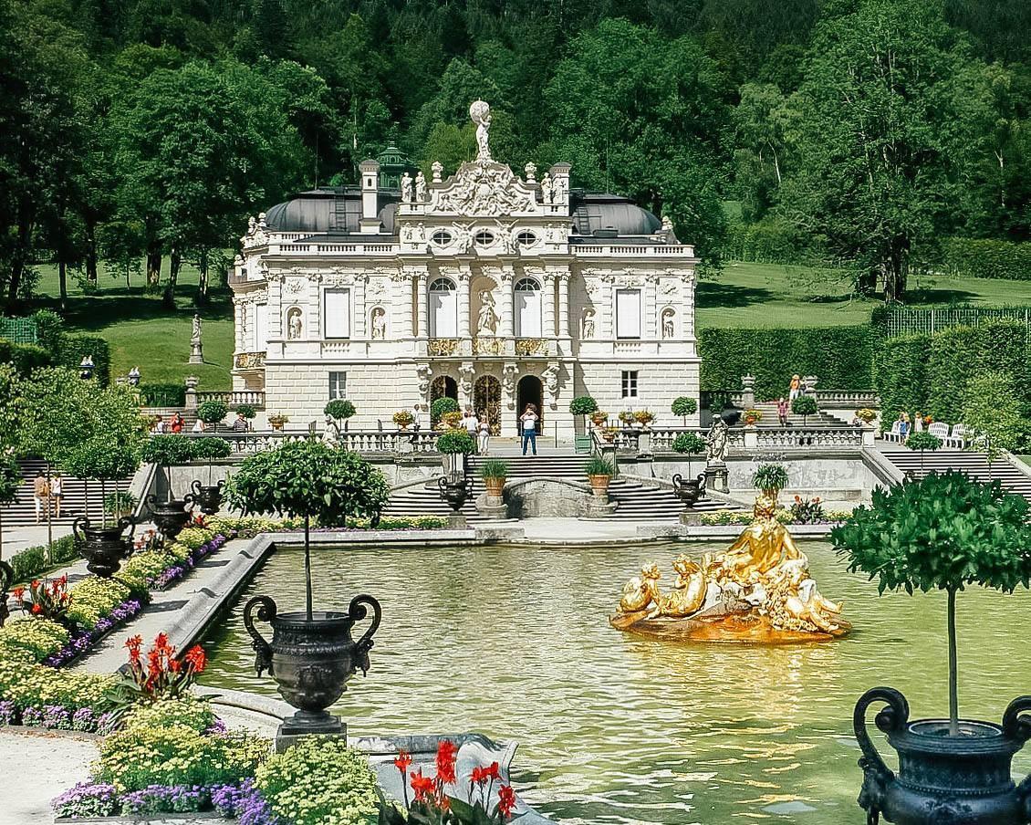 Баварский версаль линдерхоф: архитектура и достопримечательности замка