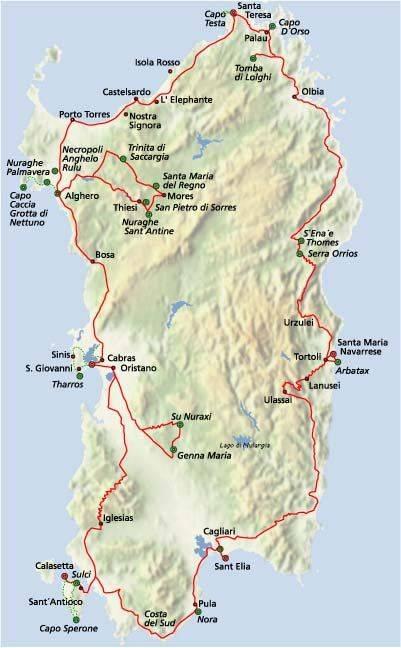 Остров сардиния: местоположение, природные условия, достопримечательности, фото - gkd.ru