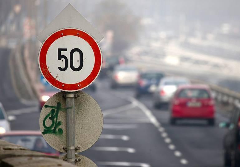 Ограничения скорости в странах европы