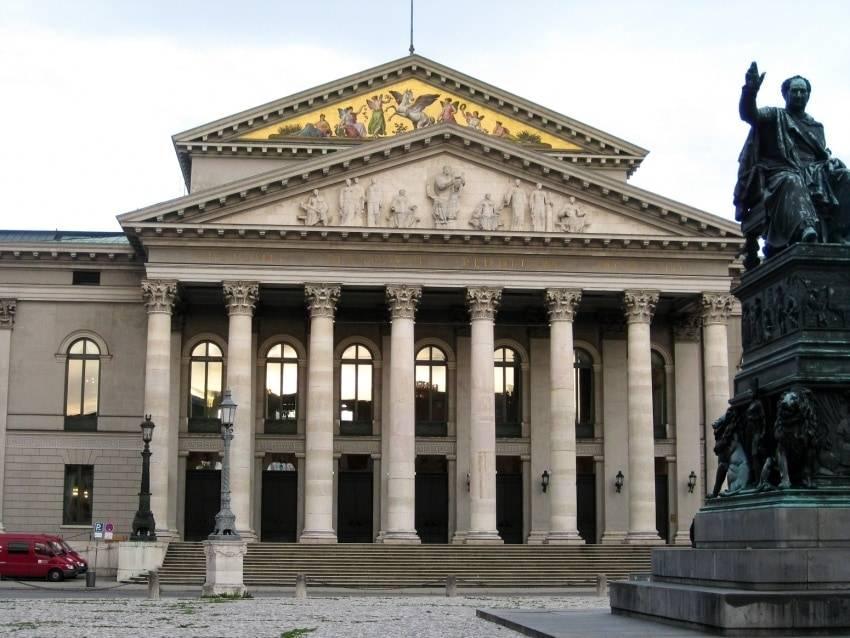 Национальный театр мюнхена (баварская государственная опера) - munchenguide