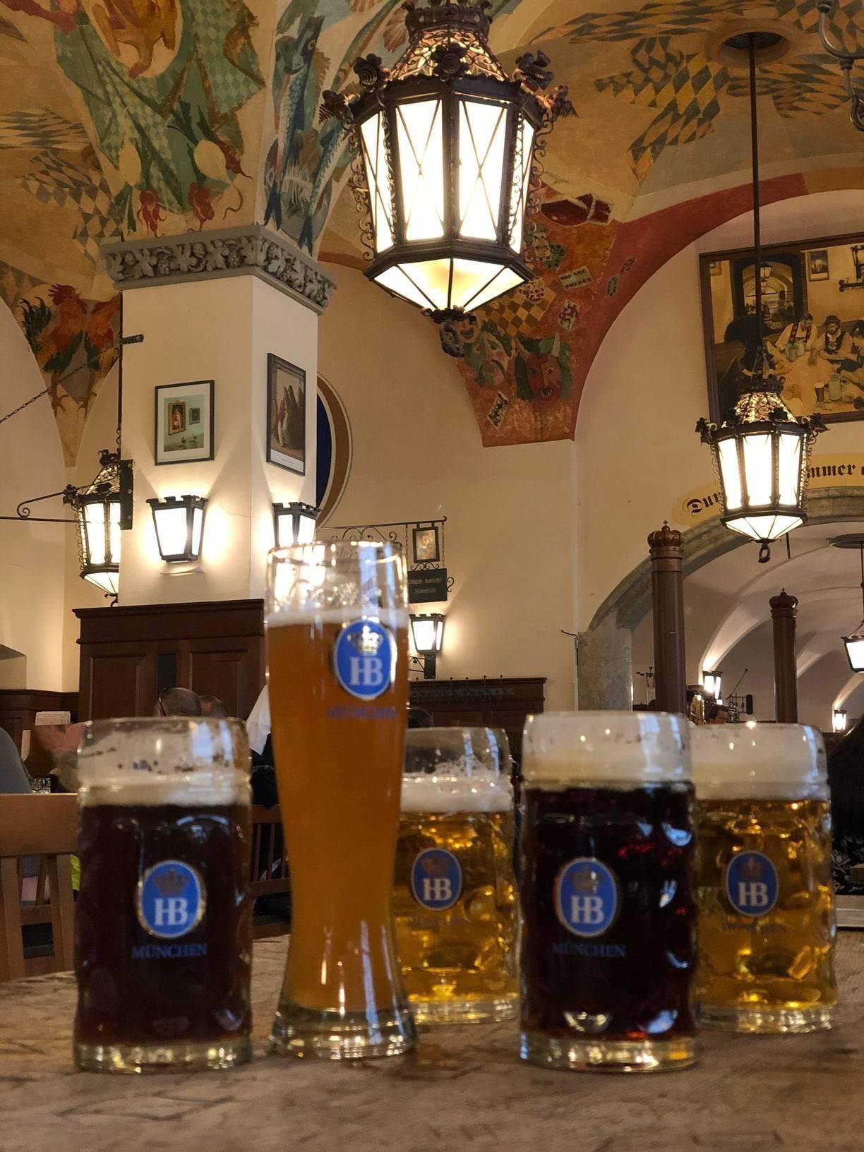 Пивоварня хофбройхаус, традиции и легенды