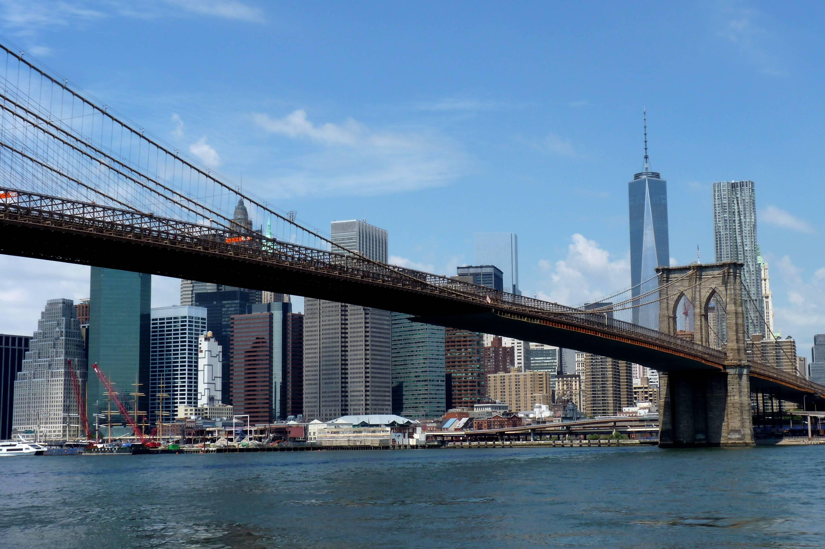 Бруклинский мост (brooklyn bridge) в городе нью-йорке: описание, история, интересные факты