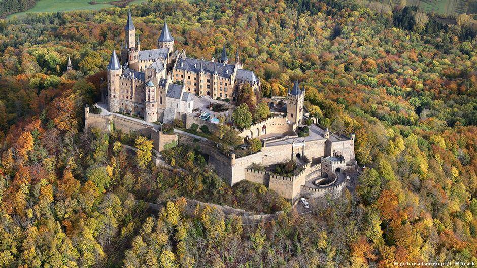 Топ 10 самых красивых замков германии