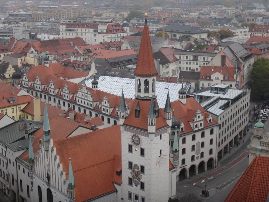 Новая ратуша мюнхена