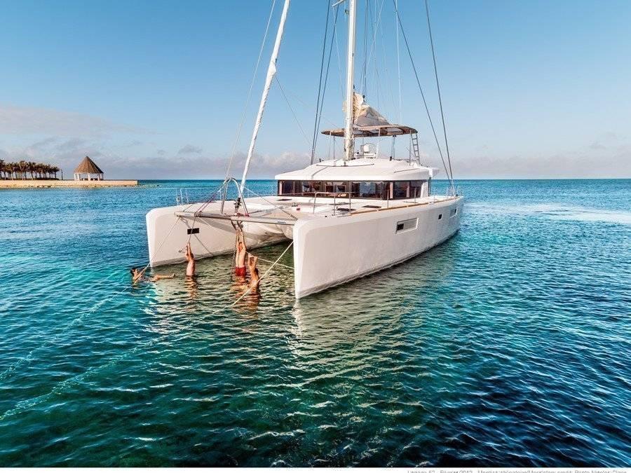 Charter yacht in spain