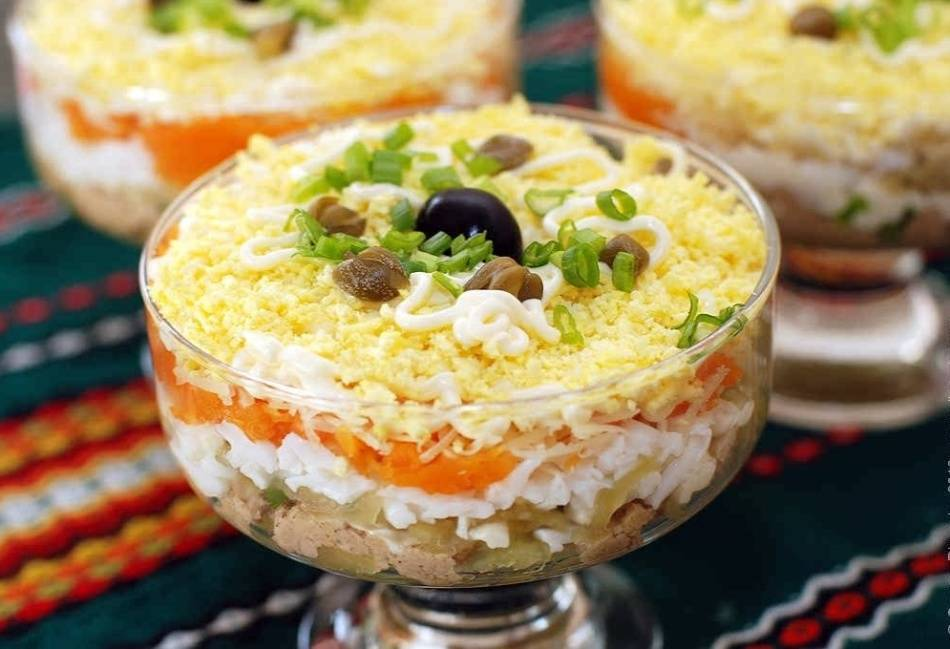Салат царский — богатое и вкусное украшение стола: рецепт с фото и видео