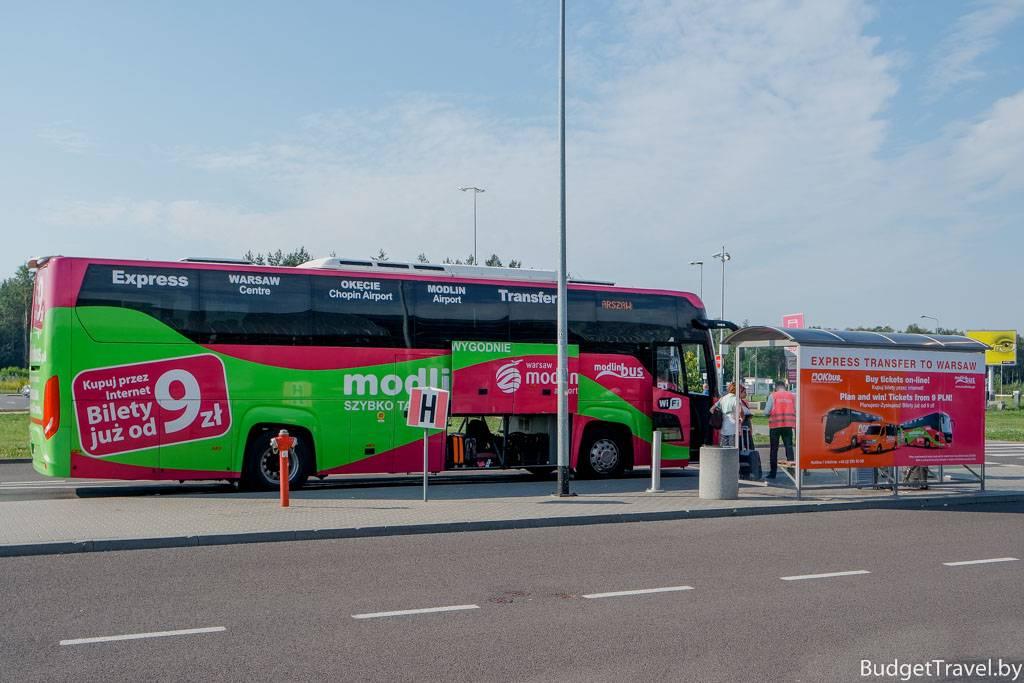 Популярный польский аэропорт варшавамодлин