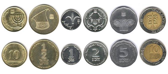 Шекель — действующая валюта с перерывом в более чем 1700 лет