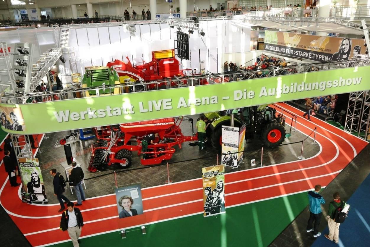 На выставке в ганновере презентовали инновационные сельхозмашины