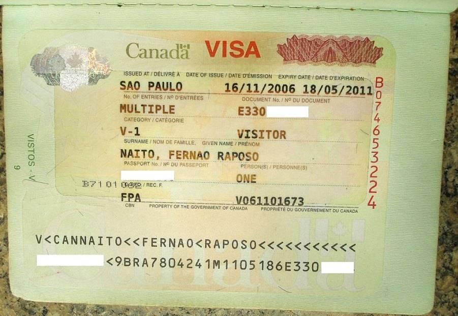 Гостевая виза в канаду: особенности оформления и необходимые документы