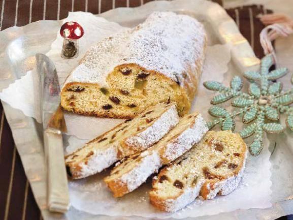 Рождественский кекс штоллен, классический рецепт