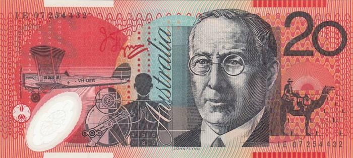Банкноты австралии