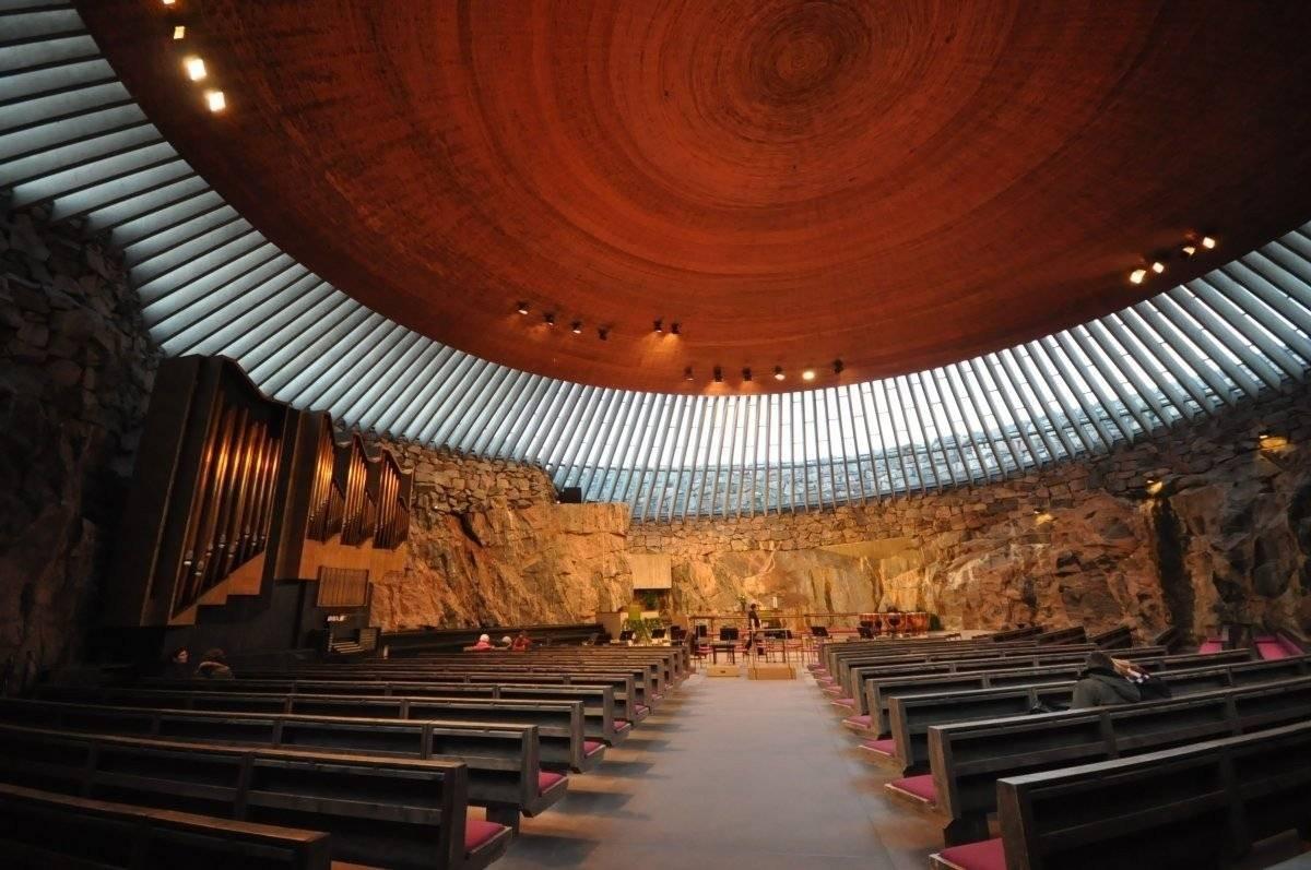 Лютеранская церковь темппелиаукио