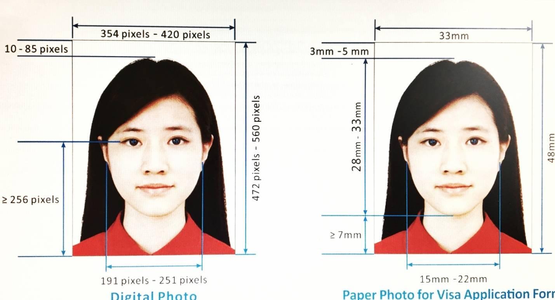Требования к фотографиям для визы в Китай