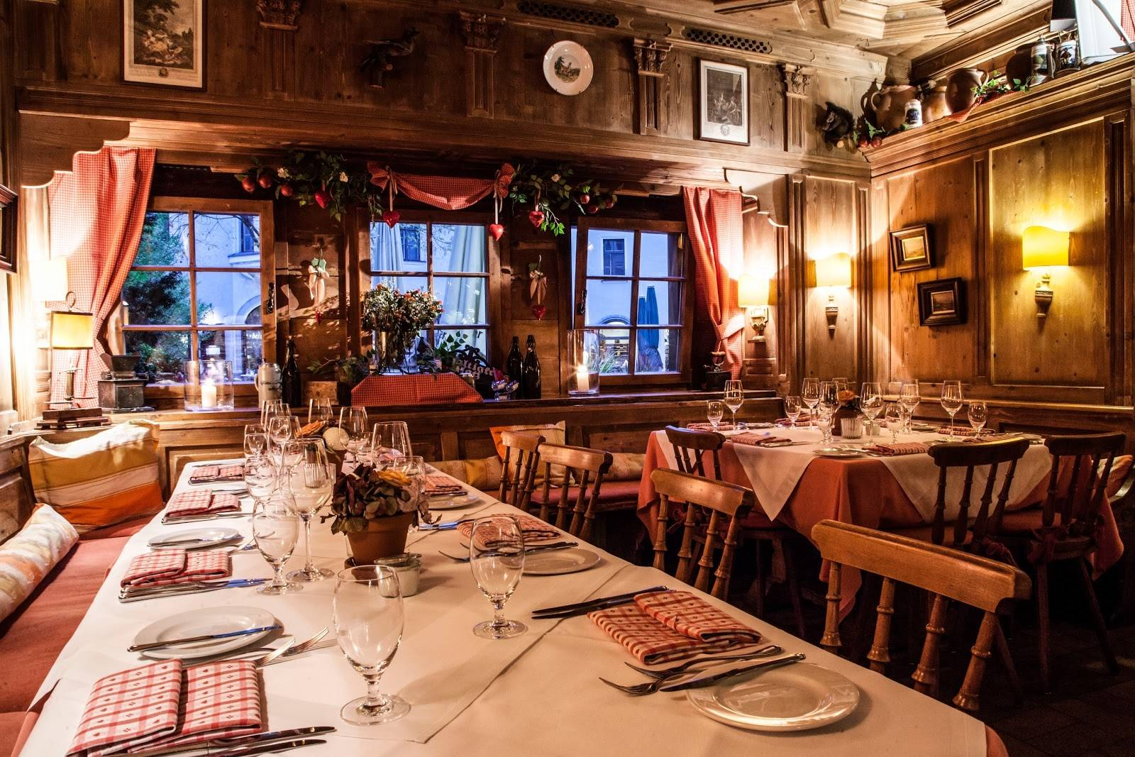 Мюнхен, германия: где вкусно поесть, популярные рестораны