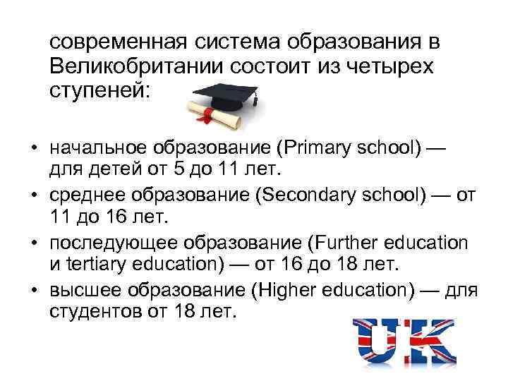Особенности системы образования в сша и перспективы обучения для иностранцев