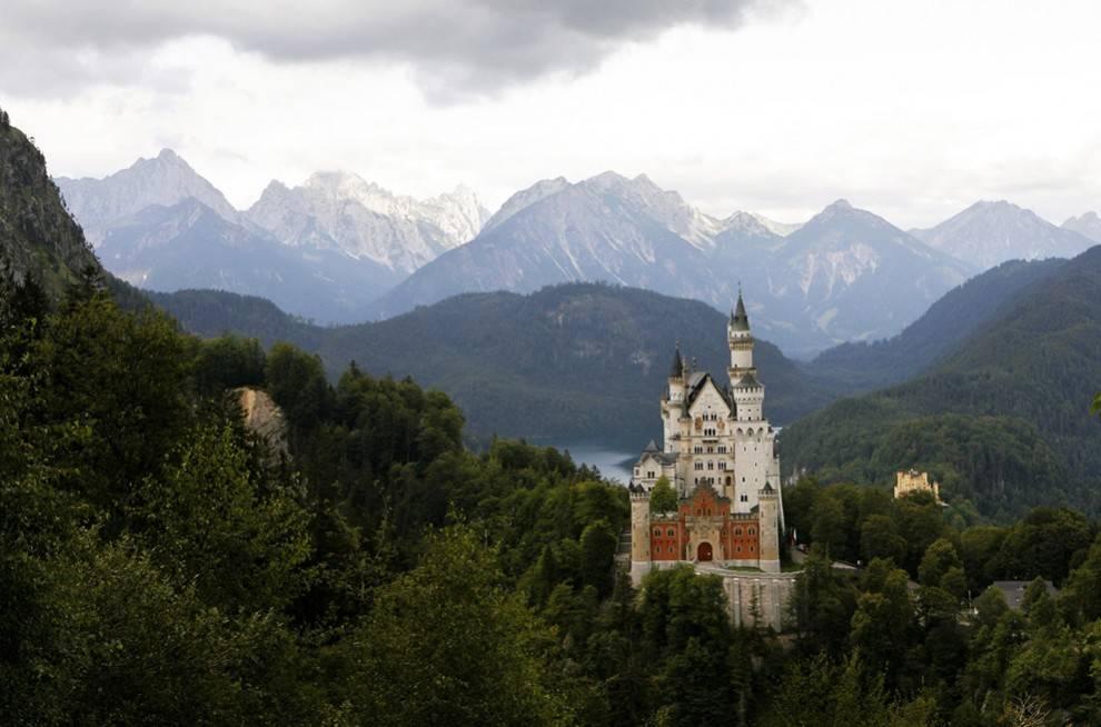 Хоэншвангау – замок, где живут лебеди ⋆ сам себе турист | магия путешествий