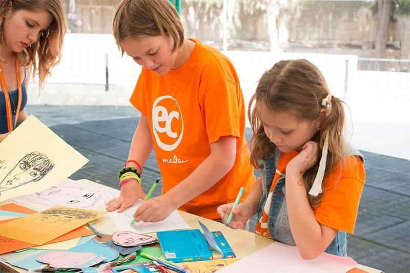 Изучение языков в детском лагере в Чехии