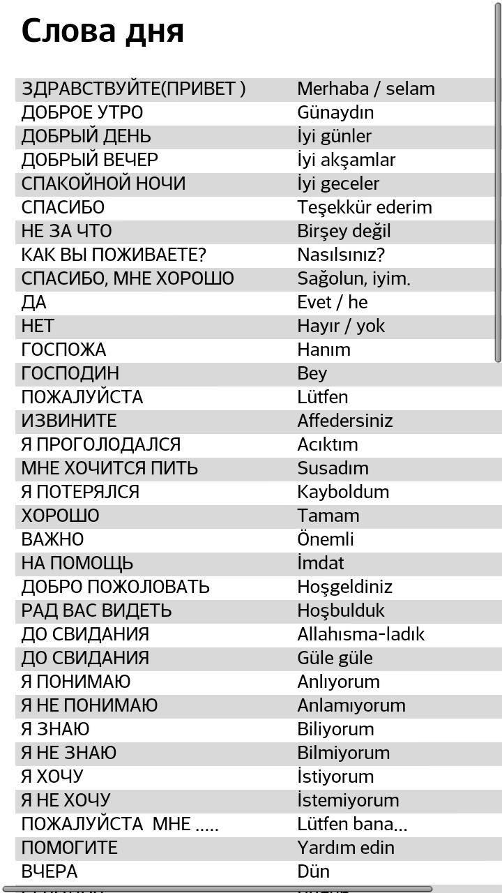 Турецкий язык - азы для туриста. зачем учить язык?