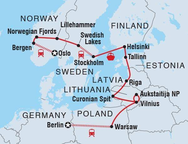 Путешествие по скандинавии sk-n